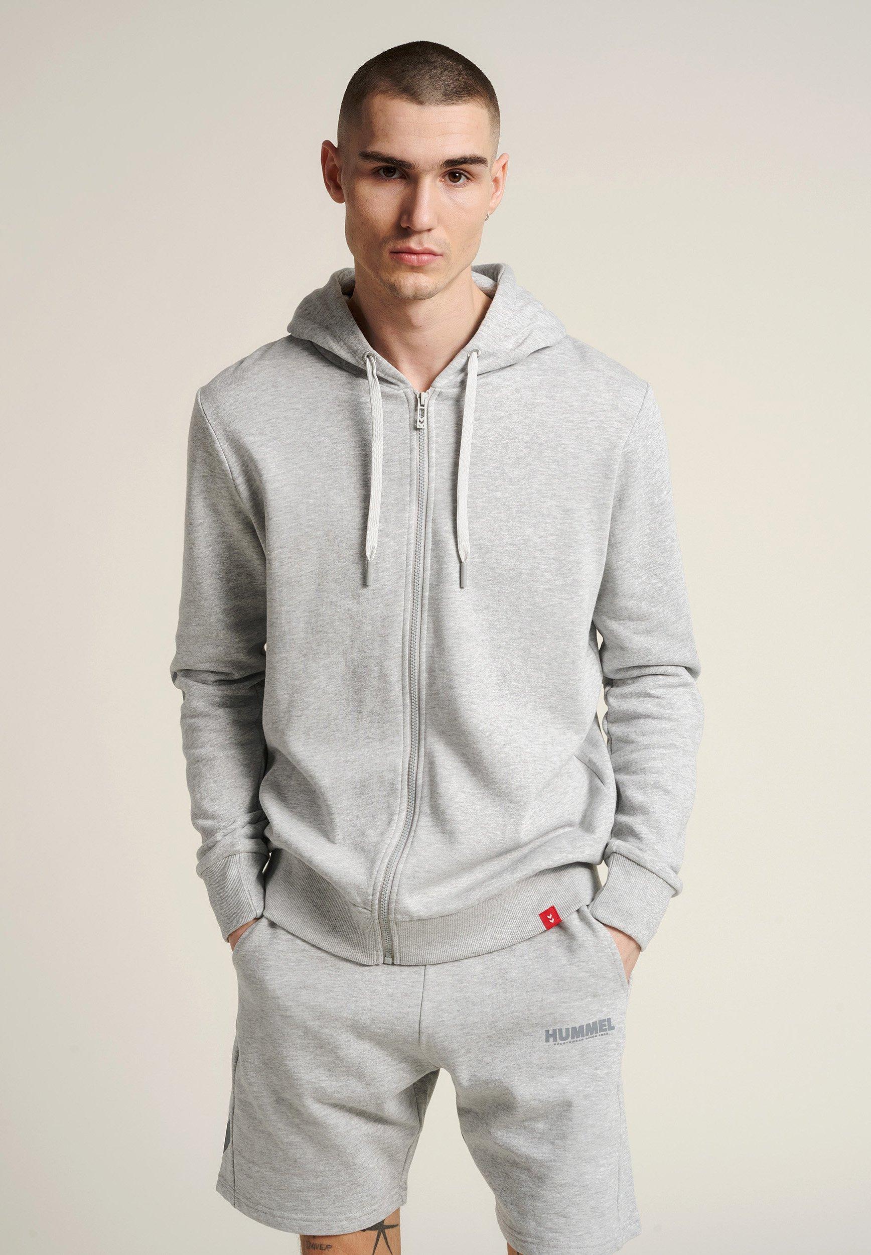 Men HMLLEGACY ZIP HOODIE - Zip-up sweatshirt