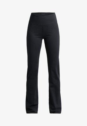NORA LASTING - Tracksuit bottoms - black