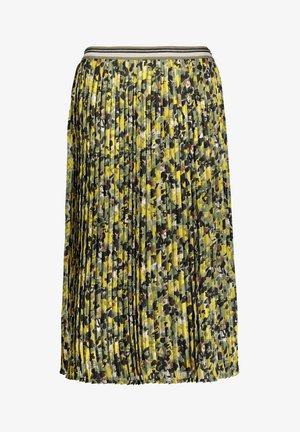 Pleated skirt - grün/schwarz