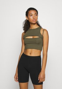 Tiger Mist - FIFI CROP - Top - khaki - 0