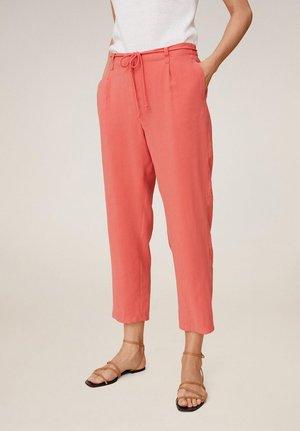 BOWIE - Pantaloni - korallrot