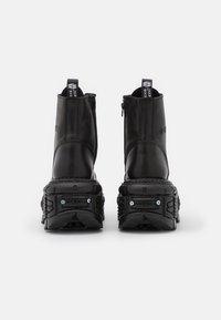 New Rock - UNISEX - Bottines à talons hauts - black - 2