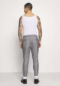 Kings Will Dream - RALPHI SMART JOGGERS - Trousers - grey check - 2