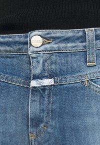 CLOSED - PUSHER - Skinny džíny - mid blue - 5