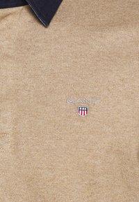GANT - THE ORIGINAL HEAVY RUGGER - Polo shirt - sand melange - 4