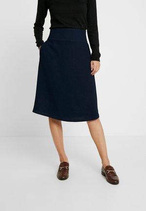 SARA - Áčková sukně - navy