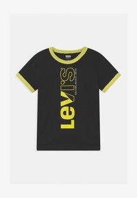 Levi's® - TWO TONE UNISEX - Print T-shirt - black - 0