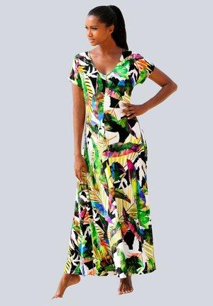 Maxi dress - schwarz bunt