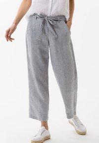 BRAX - STYLE MAINE - Trousers - grey melange - 0