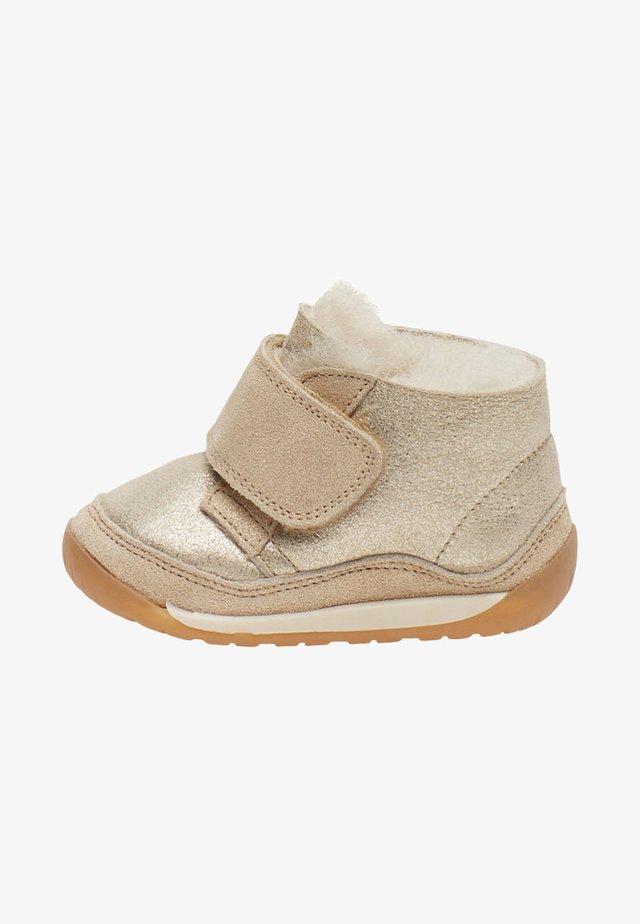 Chaussures premiers pas - gold