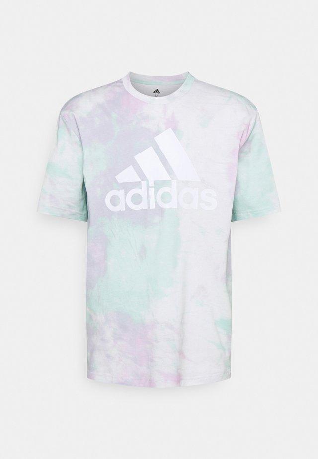 Print T-shirt - clear mint/clear lilac