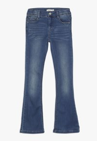 Name it - NKFPOLLY DNMATULLA BOOT PANT - Bootcut jeans - medium blue denim - 0