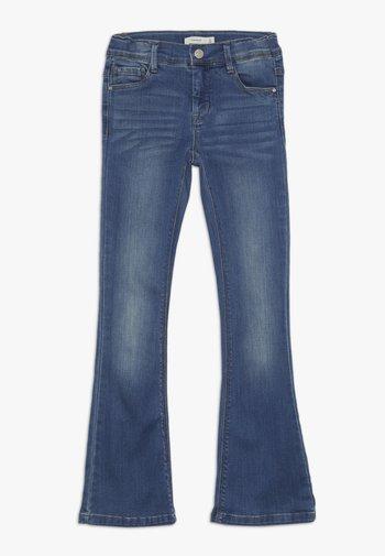 NKFPOLLY DNMATULLA BOOT PANT - Bootcut jeans - medium blue denim