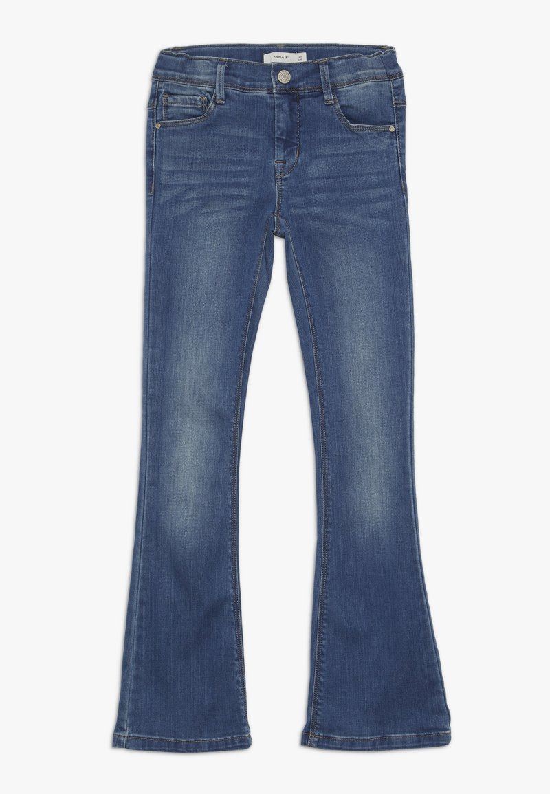 Name it - NKFPOLLY DNMATULLA BOOT PANT - Bootcut jeans - medium blue denim