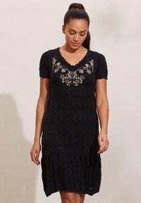 Odd Molly - DESTINY - Day dress - almost black - 0