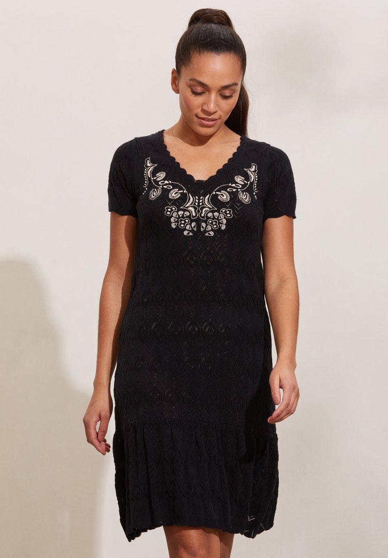 Odd Molly - DESTINY - Day dress - almost black