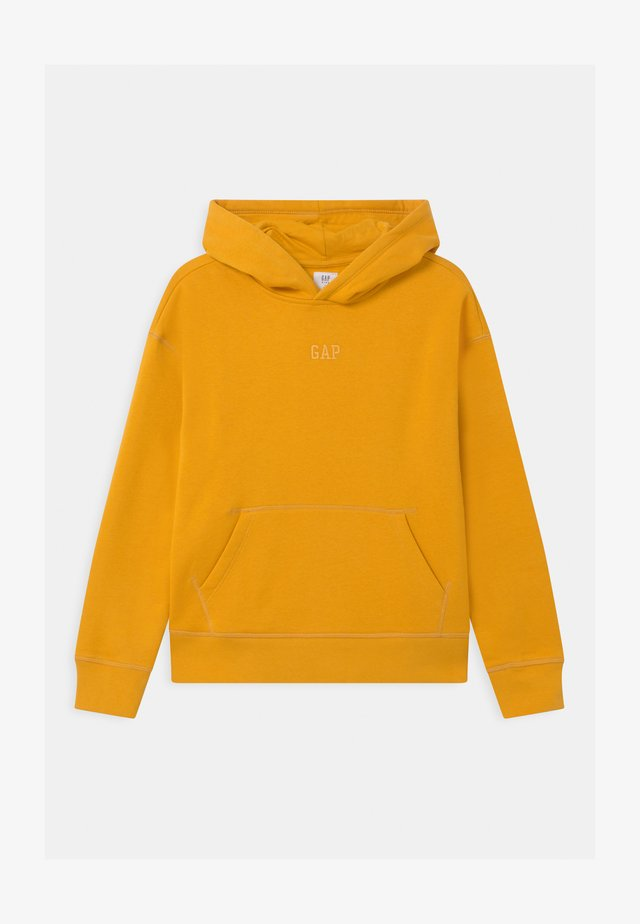 BOY SOLID HOOD - Mikina - rugby gold