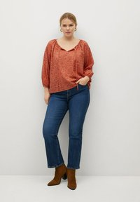 Violeta by Mango - Blouse - naranja tostado - 1