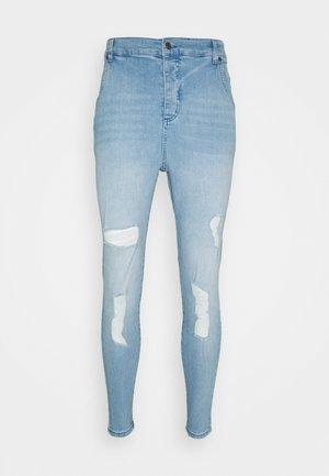 Vaqueros slim fit - washed blue