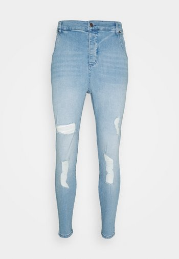 Slim fit jeans - washed blue