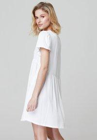 FELIPE ALBERNAZ - MIA FLARED - Shirt dress - white - 1
