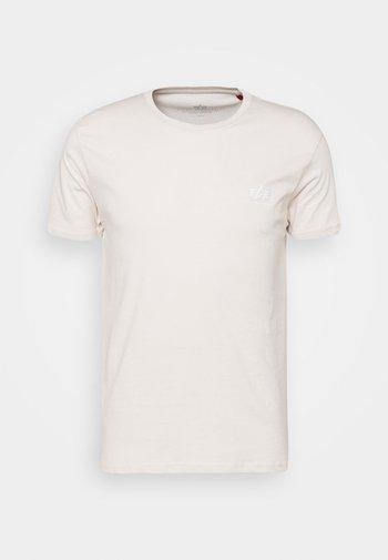 BASIC SMALL LOGO - T-shirt basic -  jet stream white