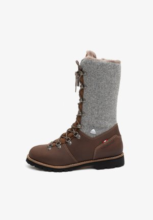 LOTTI - Lace-up boots - dunkel braun