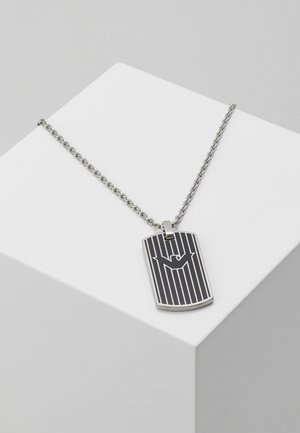 LOGO PLAY NECKLACE - Collar - silver-coloured