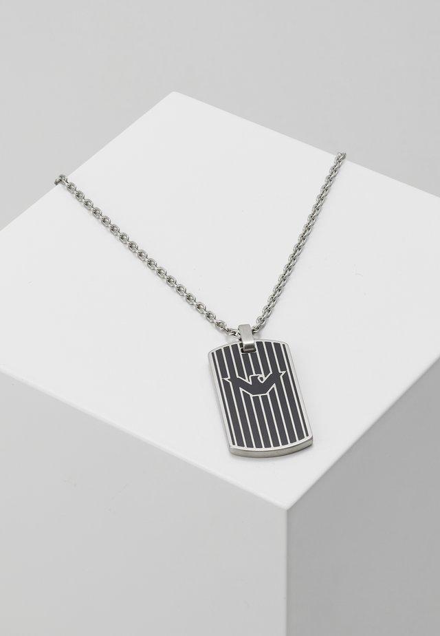 LOGO PLAY NECKLACE - Kaulakoru - silver-coloured