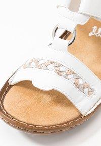 Rieker - Pantolette flach - weiß - 6