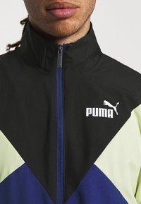 Puma - RETRO TRACKSUIT SET - Tracksuit - elektro blue - 5