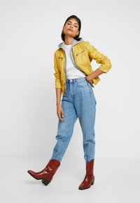 Gipsy - NOHLA - Leather jacket - yellow - 1