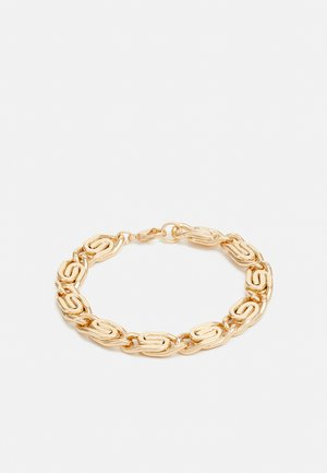 OVAL LINK CHAIN BRACELET - Armband - gold-coloured