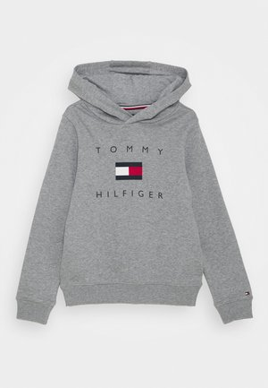 LOGO HOODIE - Hættetrøjer - mid grey heather