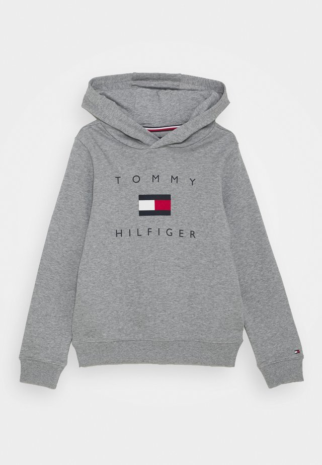 LOGO HOODIE - Hoodie - mid grey heather