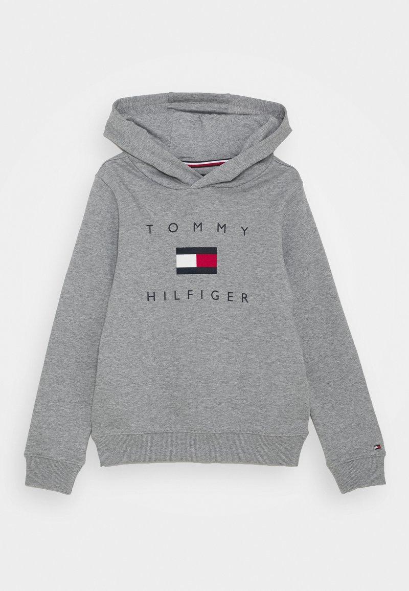 Tommy Hilfiger - LOGO HOODIE - Hoodie - mid grey heather