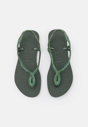 LUNA PREMIUM - Pool shoes - green olive
