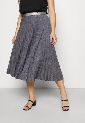 ORTISEI - Pleated skirt - blue