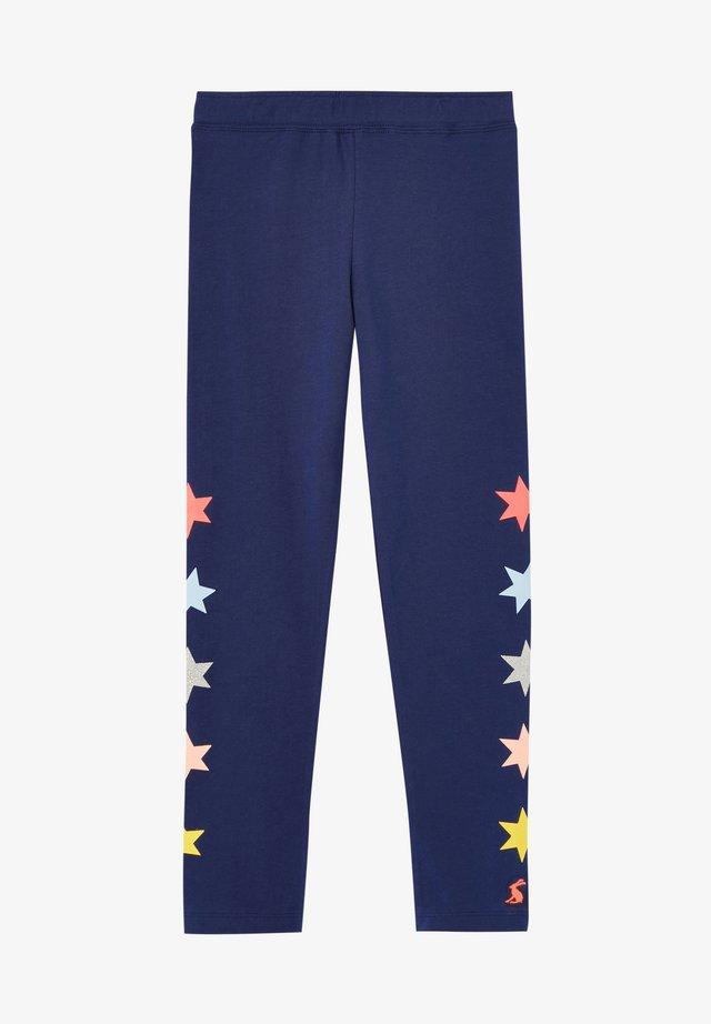 EMILIA LUXE - Pantalones - blaues juwel