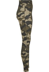 Urban Classics - Leggings - Trousers - wood camo - 6