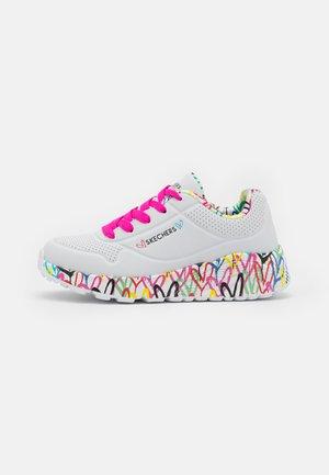 UNO LITE - Trainers - white/pink