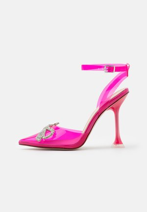 BEAUTY - Tacones - fuchsia