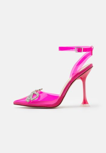 BEAUTY - Classic heels - fuchsia