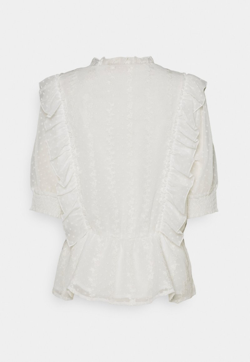 Freequent - FLOUNCE - Blouse - offwhite