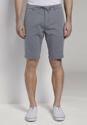 Chinos - two colored navy design
