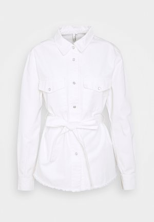 BELTED WORKER - Blouse - white