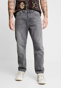 Carhartt WIP - NEWEL PANT MAITLAND - Relaxed fit -farkut - black worn washed - 0