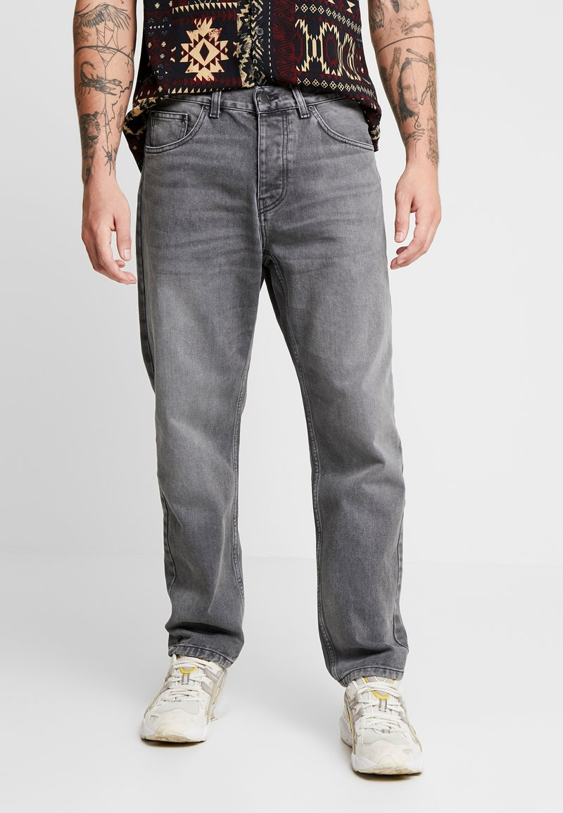 Carhartt WIP - NEWEL PANT MAITLAND - Relaxed fit -farkut - black worn washed
