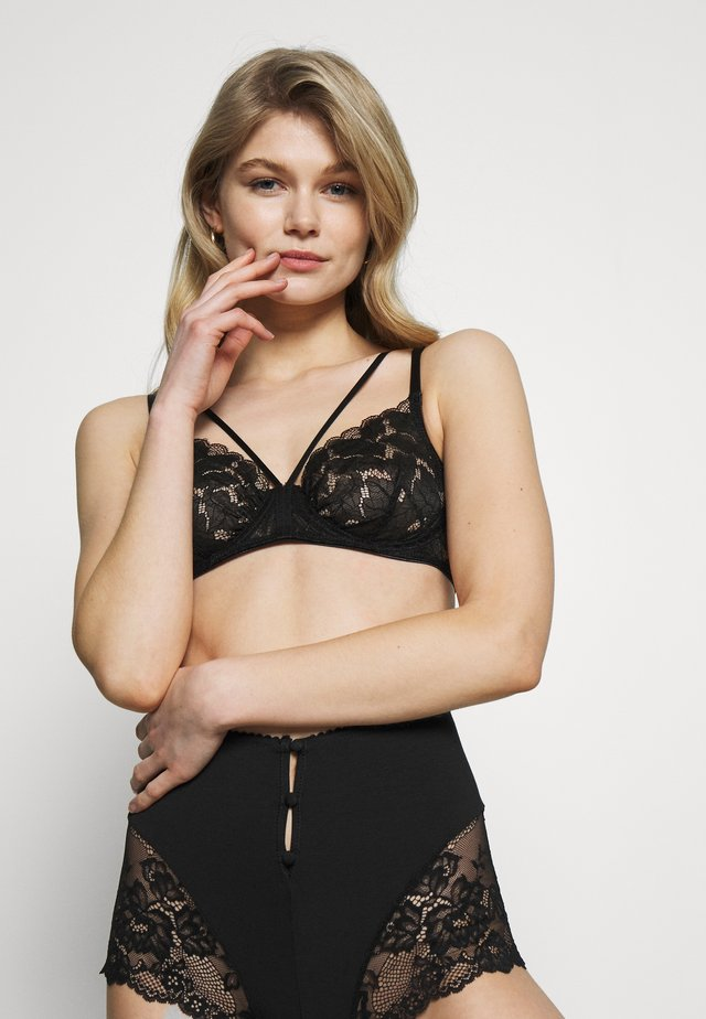 ZIGGY UNDERWIRE BRA - Bygel-bh - black