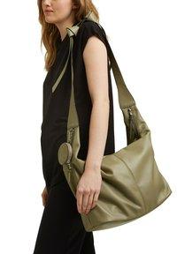 edc by Esprit - PIXIE  - Handbag - light khaki - 1